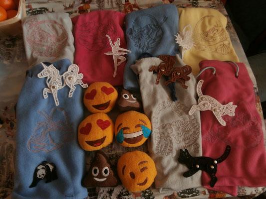 Das waren Geschenke für meine Handarbeitskinder aus der Grundschule