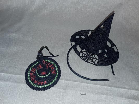 der kleine Hut ist von TM, den anderen habe ich von Design by Sick und als Haarreif gestaltet.