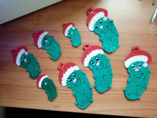 Weihnachtsgurken, da muß ich noch nacharbeiten