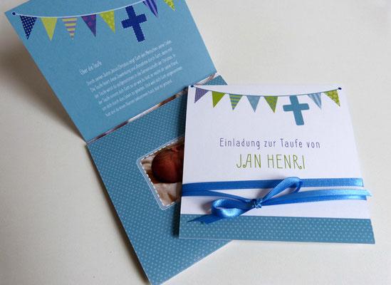 Besondere Einladungskarten: Taufe, Geburtstag, Hochzeit, Trauerkarten