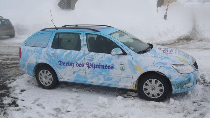 Derby des Pyrénées Piau-Engaly Skoda Octavia 4x4