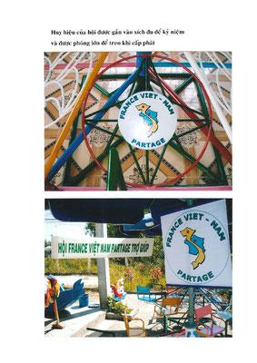 Financement par France Vietnam Partage de matériel pédagogique pour 3 écoles du district d'Hué