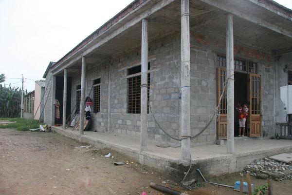 Début des constructions de maisons à Phu Mau à partir de 2010