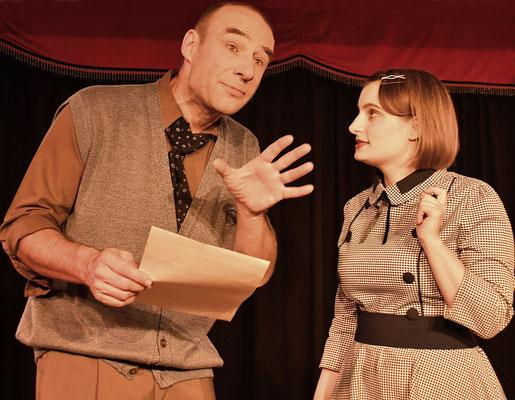 Stefan Rieger und Franziska Baumann, Foto: James Lyall