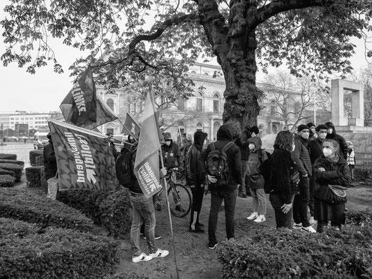 1. Mai -Demo der Linken