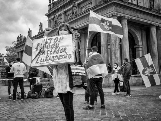 29. Mai - Solidarität für die Opposition in Belarus
