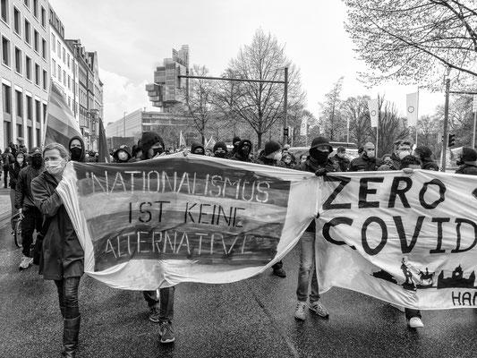 1. Mai - Demo der Linken