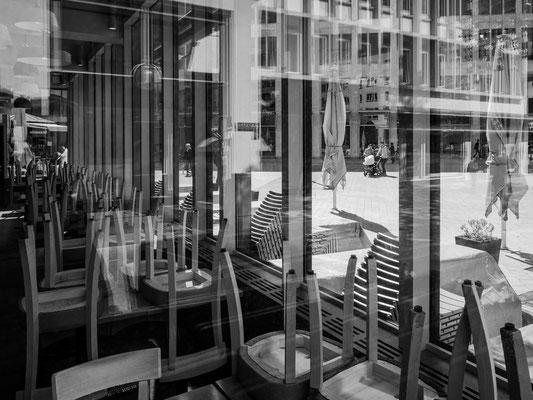 4. Mai - Das >>Cafe Kröpcke<< bleibt wie alle anderen Restaurants bis auf weiteres geschlossen