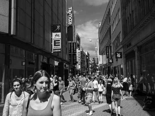 20. Juni - Fast schon wieder Normalität in der großen Packhofstraße