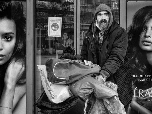 20. Januar - Jetzt gibt es mehr Obdachlose als beim ersten Shutdown in der Innenstadt