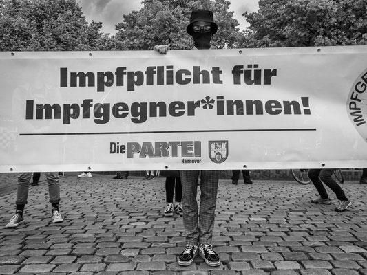 16.05.2020 Gegendemonstration am Steintorplatz
