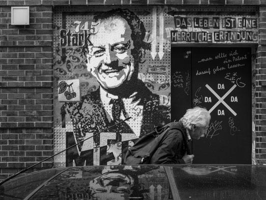 10. Juni -  Limmerstraße - DAS LEBEN IST EINE HERRLICHE ERFINDUNG ... Was wäre Kurt Schwitters wohl zu COVD-19 eingefallen?