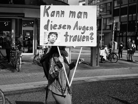 6. Juli - Schmiedestraße - Demo der Gegner von Corona-Auflagen