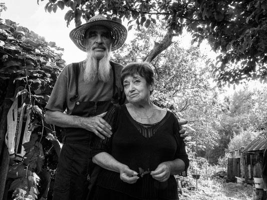 Alexandr und und die Kunstkritikerin Larissa Finkelstein