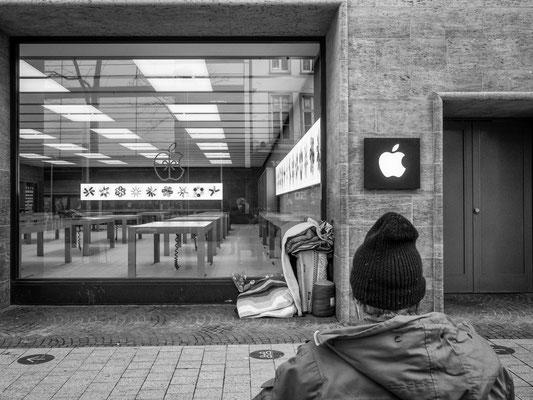 20. Januar - Wohnen bei Apple in der Bahnofstraße