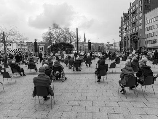 1. Mai - DGB Kungebung auf dem Gosseriedeplatz