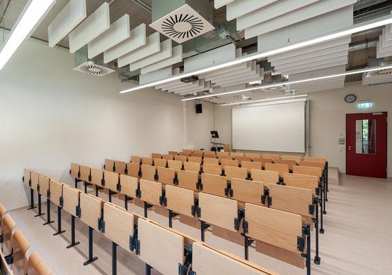 Erweiterung Hochschule Bonn-Rhein-Sieg Standort Rheinbach - eine Hörsaal