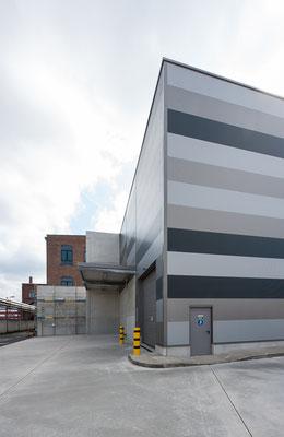 Hallenerweiterung für Gross-Coils, Drahtwerk Köln GmbH,