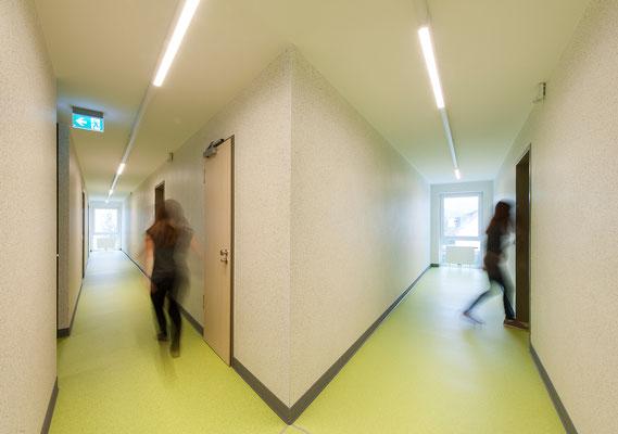 Neubau Studierendenwohnanlage in Gummersbach, Flur