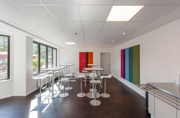 Modernisierung Betriebsrestaurant Siegwerk Druckfarben AG & Co. KGaA, Cafeteria