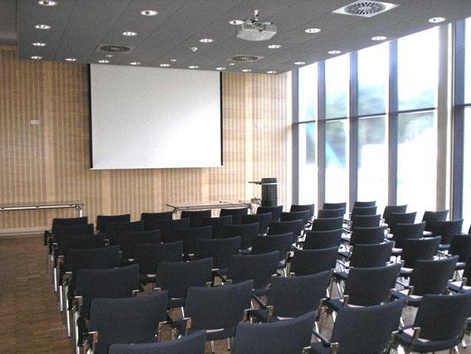 """Erweiterungsneubau Gebäude 21, """"Institut für Materialphysik im Weltraum"""", DLR, Köln, Seminarraum"""