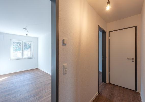 Neubau für gefördertes Wohnen in Kerpen-Horrem,  Maisonettewohnung, Zimmer 1. Obergeschoss