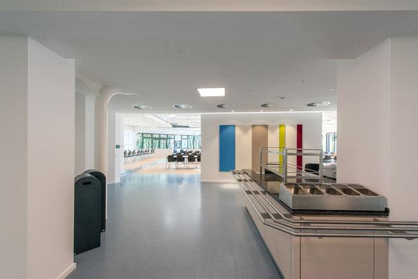 Modernisierung/Sanierung der Küche und Speiseausgabe Betriebsrestaurant Siegwerk Druckfarben AG & Co. KGaA
