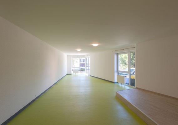 Neubau Studierendenwohnanlage in Gummersbach, Gemeinschaftsraum