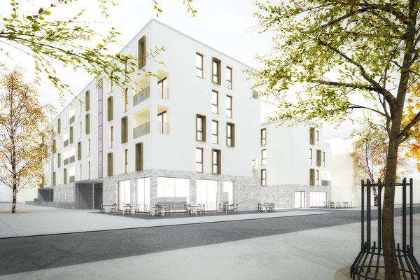 Wettbewerb I Neubebauung Hermeskeiler Platz in Köln