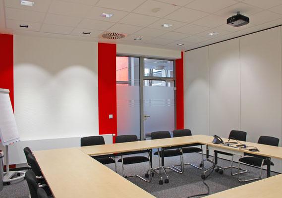 Eine repräsente Verbindung, Oerlikon Textile GmbH & Co. KG, Remscheid, Konferenzzimmer