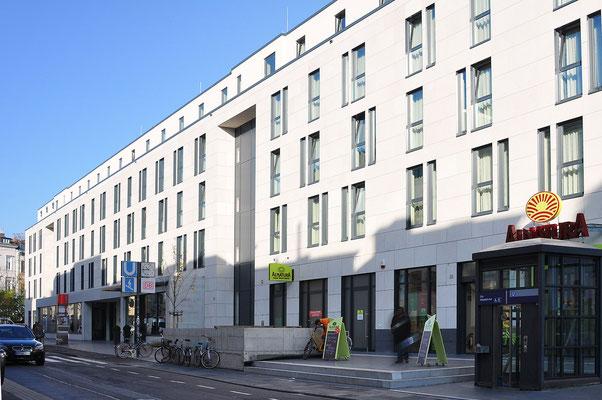 Neubau InterCityHotel Bonn, Straßenansicht