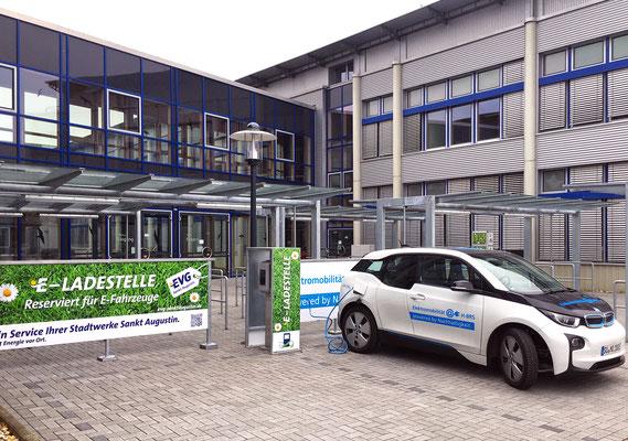 Erweiterung Hörsaalzentrum Hochschule Bonn-Rhein-Sieg, ELT-Zapfstelle