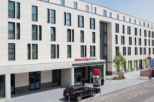 Neubau InterCityHotel Bonn, Ansicht Haupteingang