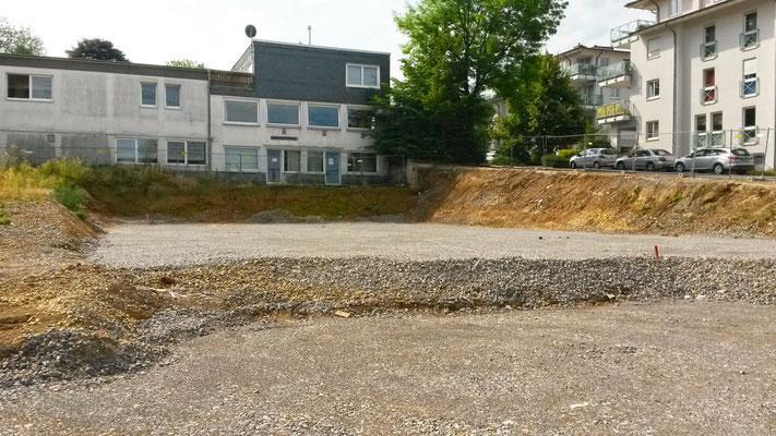Neubau Kindertagesstätte Schulstraße Wülfrath, ein tragfähiger Baugrund ist entstanden