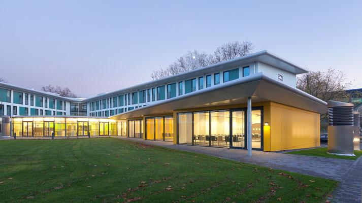 hmp-DJH-Jugendherberge Duisburg Sportpark Ansicht, Foto: ah-fotografie.de