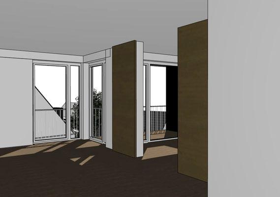 Wettbewerb I Quartiersentwicklung Breitenhagen, Altena, Zweizimmerwohnung
