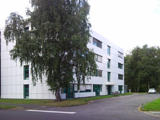 """Erweiterungsneubau Gebäude 21, """"Institut für Materialphysik im Weltraum"""", DLR, Köln, Ansicht Bestand"""