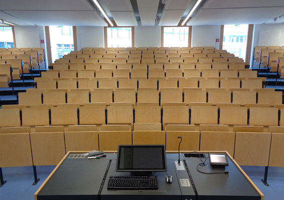 Erweiterung Hörsaalzentrum Hochschule Bonn-Rhein-Sieg, Hörsaal