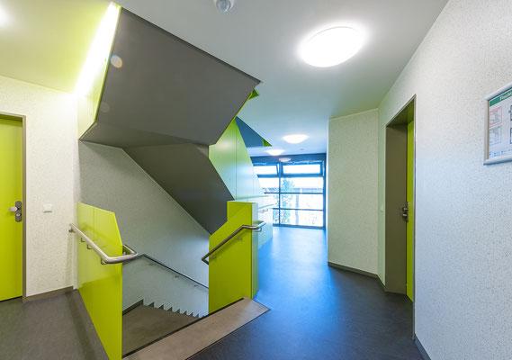 Studierendenwohnheim Graacher Straße Köln KSTW - Treppenhaus