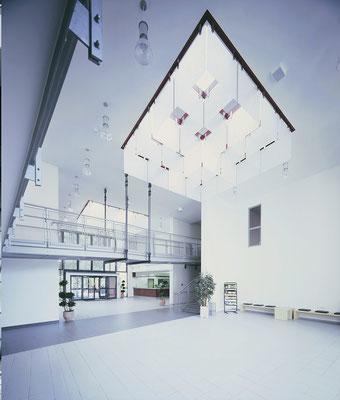 Jugendherberge Köln-Deutz, Eingangshalle