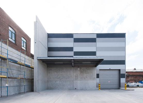 Hallenerweiterung für Gross-Coils, Drahtwerk Köln GmbH