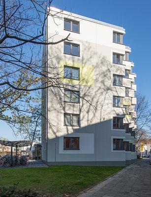 Erweiterung Wohnanlage für Studierende in der Bernkasteler Straße in Köln