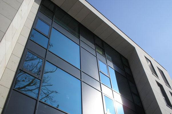 Neubau InterCityHotel Bonn, Fassade Detail