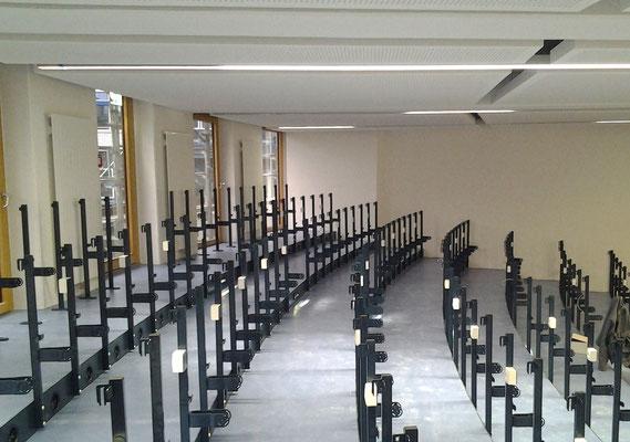 Erweiterung Hörsaalzentrum Hochschule Bonn-Rhein-Sieg, Hörsaal im Bau