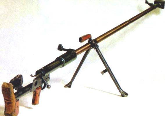 Противотанковое ружьё Дегтярёва ПТРД