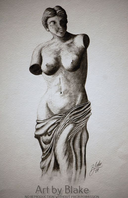 'Godess of Love' by Blake 2019
