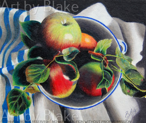 Apple Bowl for Mother's Day by BLake, 2018