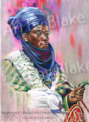 'Prince of Africa' by Blake 2016
