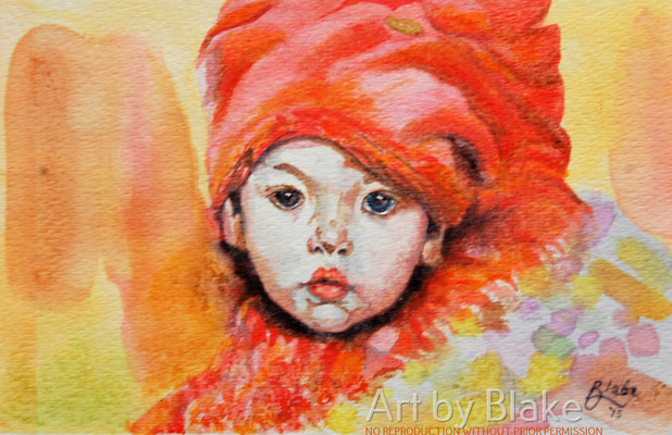 'The Red Boy' by Blake