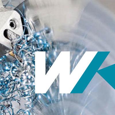 Website, Messeunterlagen, Illustrationen WKM Maschinenbau